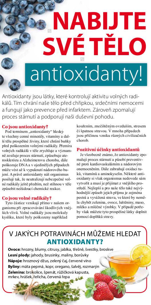 Nabijte své tělo antioxidanty